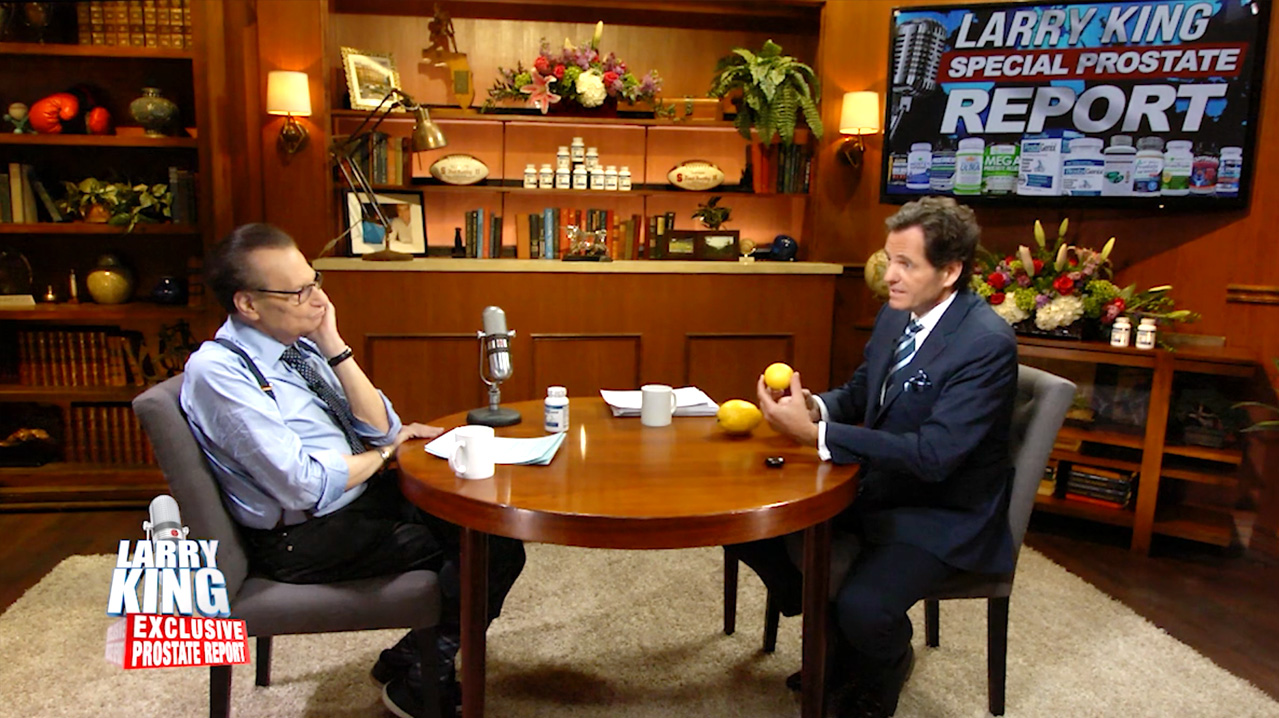 Larry King & Fred Buckley